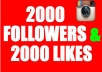 give 2000 followers very fast