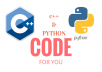 do your Python,Cpp assignments,homework,tasks and scripts