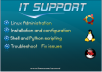install, configure , fix anything on your Linux based server or station