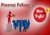 provide 300 pinterest followers