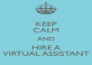be your virtual assistant for 24 hours