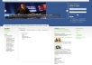 setup Joomla and customize the layout for your needs along with your modules
