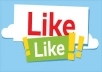 Give you 100+ Facebook Fan page Likes + 1000 Facebook Post/Photo Likes within few hours