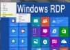 provide remote desktop connection RDP Windows 2012