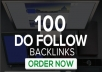 creat 100 high dofollow backlinks blog comments manully