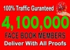 promote your link 4,100,000 FACEBOOK members promo
