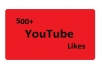 give 500 youtube likes