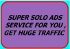boost your solo ads to my active 75 millions members get loads of real traffic
