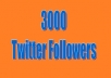 give you 3K Twitter followers
