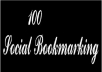 submit your website or blog or video in 100 social bookmaking sites manually