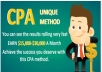 provide you CPA Methods for Earn 3000 dollar a month