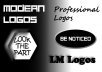 design 2 flat logos for your company