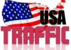 Drive 7000 USA Real Targeted Website Traffic To Your Website,Blog