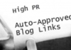 Give You A MEGA List Of Auto Approved Blog Urls