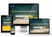 design a gorgeous landing page for your website