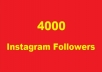give you 4K Instagram followers