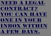 write you a contract