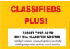 submit your ad to 300 USA Classified Ad sites
