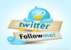 increase 6000+  real follower on your twitter profile within 12 hours