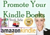 promote Your Amazon kindle BOOK with Real Uk usa Book lovers to 500000 members