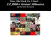 compile a list of 17,000+ CD albums from the past 60 years