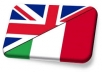 translate from English and French to Italian text up to 500
