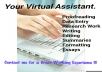 not only be Your Virtual Assisstant, but also help you with RESEARCH, WRITING AND SUMMARY