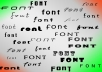 give 10000 Huge Collection of FONTS