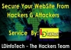 test and secure your website from hackers