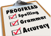 professionally edit and proofread 1,500 words of your document