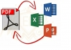 convert files PDF to Word or other