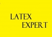 write, Proofread, typeset,correct or fix your LaTeX document or macros