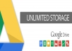 create unlimited google drive storage