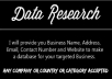 do research information address,phone,email,web