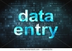 do 100% accurate data entry
