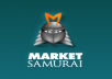 will teach you trick to get market samurai free of cost for forever