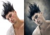 Photoshop and retouch photo