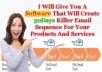 give You A Software That Will Create 30Day Killer Email Series For Your Products
