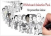 create a professional Whiteboard Animation/ narative explainer video