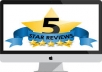 write a positive review for your any site