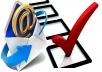 provide email list with 10,000 scraped and valid emails