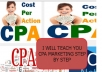 teach you how to make 1000 dollars in CPA marketing