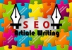 write an extreme seo-optimized article