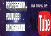make you a professional youtube banner of your theme