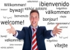 translate any of the following Languages from one to another; English, French, Spanish, German, Chinese and Yoruba