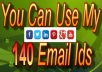 serve You With Using My 140 Email Address