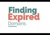 find 2 High Quality Expired DOMAINS for your Pbn