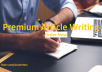 create a high quality original article or content of 500 words on any topic