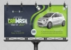 put your Photo or logo on 10 BILLBOARD designs