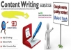 write original 600 words Seo optimized content for your website or blog
